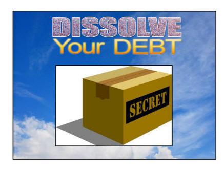 Dissolve Your Debt e-cover